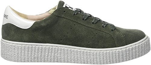 NONAME Picadilly Sneaker Suede, Basse Donna Vert (tilleul)