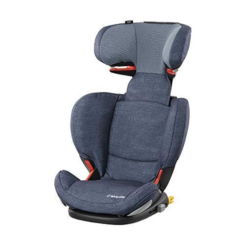 Maxi-Cosi RodiFix AirProtect (AP) Kindersitz, mitwachsender Gruppe 2/3 Autositz (15 - 36 kg), ISOFIX-Sitzerhöhung mit Seitenaufprallschutz, nutzbar ab 3,5 - 12 Jahre, nomad blue -