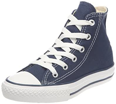 Converse Chuck Taylor All Star, Unisex-Kinder Hohe Sneakers, Blau (Navy), 33 EU