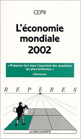 L'Economie mondiale 2002 par CEPII