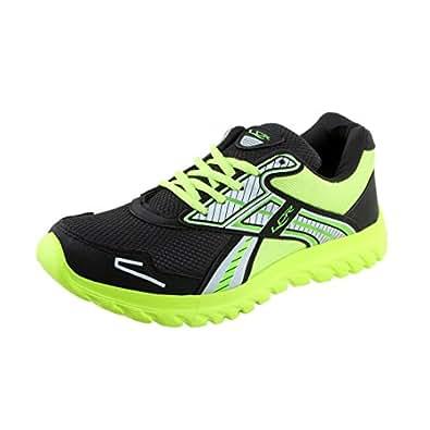 f44cda6e892 Lancer Men s Black Mesh Running Shoes (LEO BLK-PGN-40) - 6 UK  Buy ...