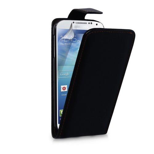 Vanilla Cloud Étui à rabat en cuir pour Samsung Galaxy S4 Mini Noir