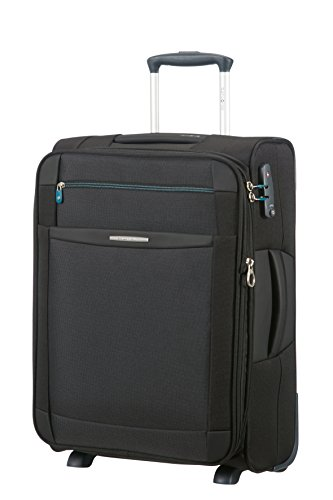 Samsonite Dynamo Upright 55/20 Equipaje de Mano Expansible,5 5 cm, 48 L, Color Negro