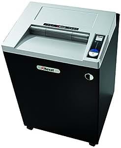 Rexel Destructeur coupe croisée RLWX25 format large, 25 feuilles à la fois, compatible CD