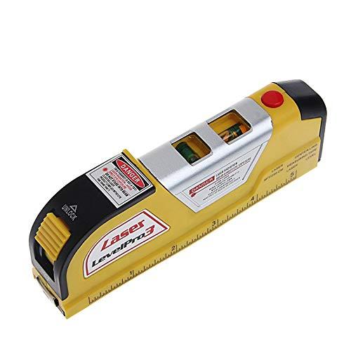 Mehrzweck-Laser-Maßband, Laser-Maßband, Lineal einstellbare Standard- und metrische Lineale, horizontale vertikale Linie, Maßband