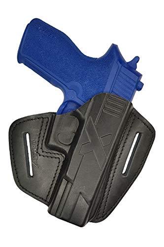 VlaMiTex U9 Leder Schnellziehholster für Sig Sauer P227