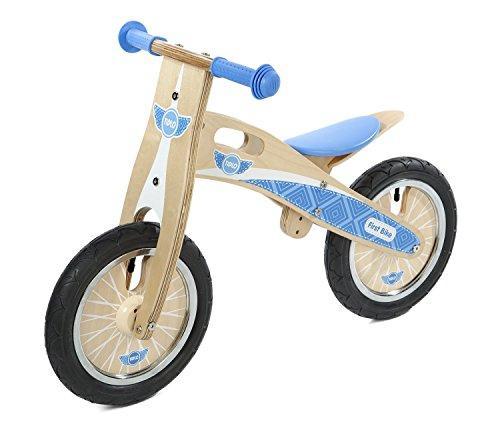 Tidlo : My First Wooden Balance Bike : Blue