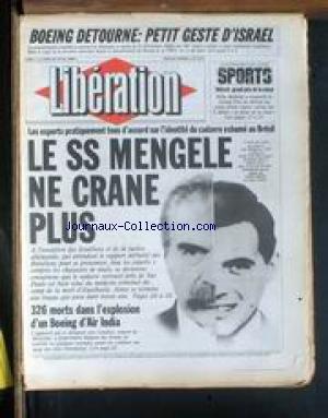 liberation-no-1273-du-24-06-1985-boeing-detourne-petit-geste-disrael-le-ss-mengele-ne-crane-plus-kek