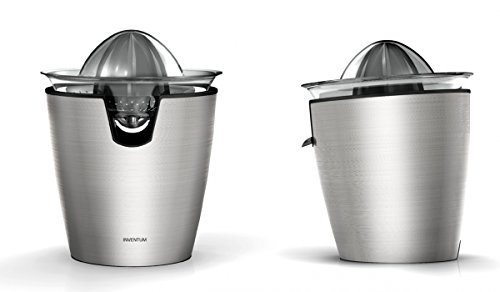 Inventum Deluxe Stainless Steel Citrus Juicer, 80 Watt