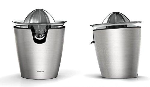 Inventum Deluxe Stainless Steel Citrus Juicer, 80 Watt