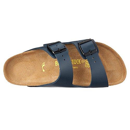 Birkenstock Womens Arizona Leather Sandals Blue