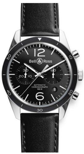 Bell & Ross BRV126-BL-BE/SCA - Orologio da polso
