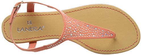 TANTRA - Sandals With Beads, Sandali Donna Rosa (Salmon)