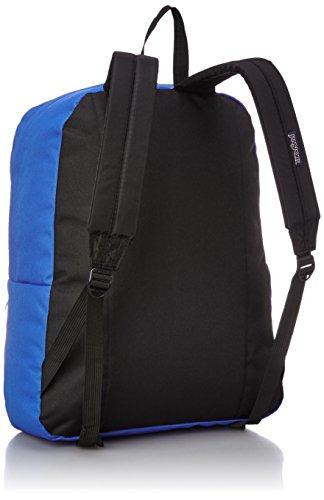 Jansport - Borsa T5019JG Unisex - adulto, Blu (Bleu (Mammoth Blue)), Taglia unica Black, Blue