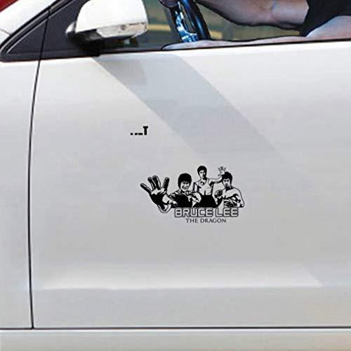 auto-aufkleber 20 cm x 11 cm Bruce Lee The Dragon Fight Karate Aufkleber Auto Aufkleber Für Auto Laptop Fenster Aufkleber