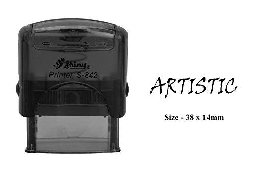 KÜNSTLERISCHER Stempel Shiny S-842 Büro Self Inking Stationär Stempel -