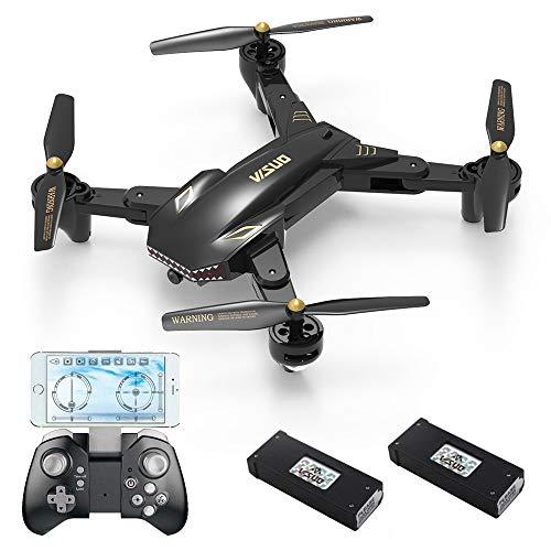 REDPAWZ Drone cámara Gran Angular 2 Piezas 1800mAh