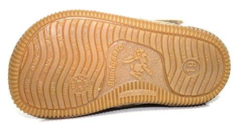 Bundgaard BU-127-28 Kinder Schuhe Stiefeletten, Weit, braun/weis braun/weis