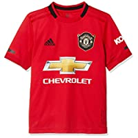 adidas Boy's 18/19 Manchester United Youth Home Jersey, Red (Real Red), 9-10 Years