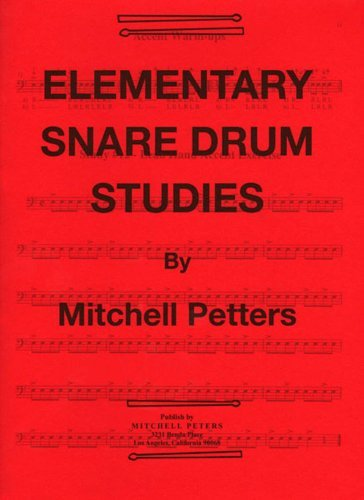 Snare Drum Studies by Mitchell Peters (1988-01-01) ()