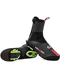 HYSENM /Überschuhe Schuhabdeckung Shoe Covers Fahrrad Rennrad Wasserdicht Sanddicht Schwarz 1 Paar