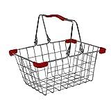 small foot company Cestino Metallico per La Spesa e per La Bicicletta (2 pezzi)