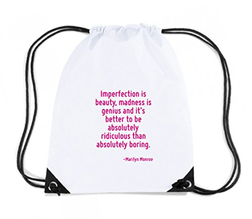 t-shirtshock-backpack-budget-gymsac-cit0260-imperfection-is-beauty-madness-is-genius-and-it-s-better