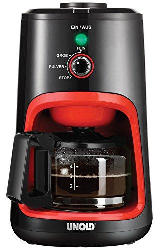 UNOLD 28724  Kaffeeautomat, 0.6 L, 900 W, Schwarz/orange