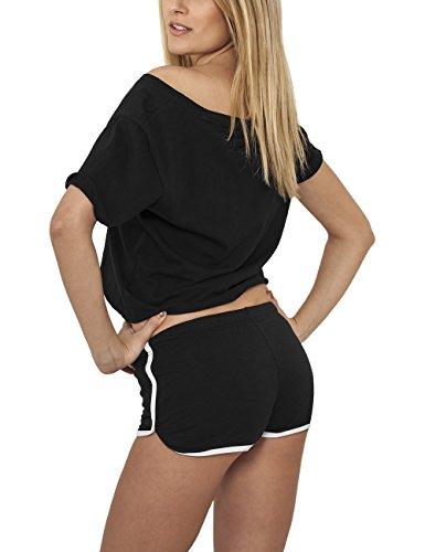 Urban Classics Damen Short Ladies French Terry Hotpants, Mehrfarbig - 2