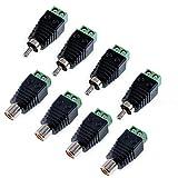 Oiyagai Haut-Parleur DE 8Pcs Fil de RCA vers AV Phono Mâle RCA connecteur de...