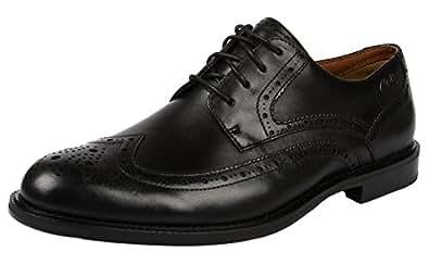 Clarks Shoes Vertriebs GmbH DORSET LIMIT Größe 10 Schwarz (BLACK)