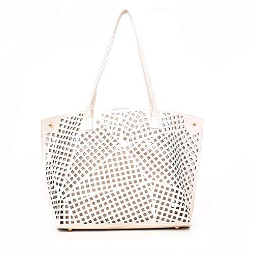 Juicy Couture Tote Handtasche (Frauen Handtaschen Leder Messenger Bags Totes Bag beige)