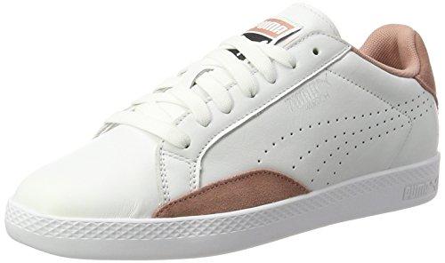 Puma Damen Match Lo Classic Sneaker, Weiß (White-Cameo Brown), 39 EU (Classic Tennis-schuh)