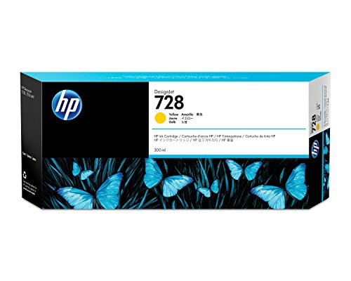 Preisvergleich Produktbild HP F9K15A Tintenpatrone, 728 Original, gelb