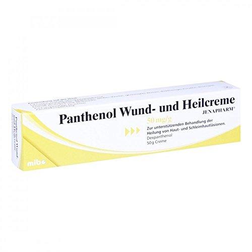 Panthenol Wund- und Heilcreme JENAPHARM 50mg/g 50 g