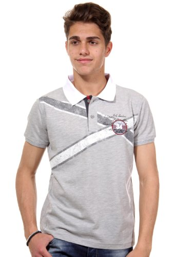 R-NEAL Poloshirt slim fit Grau