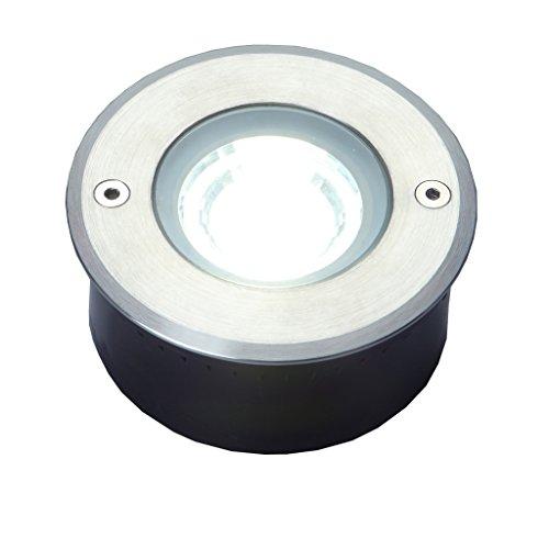 ECO de luz LED-Bodeneinbauspot Cydops LED, acero inoxidable, redonda, diámetro de 11...