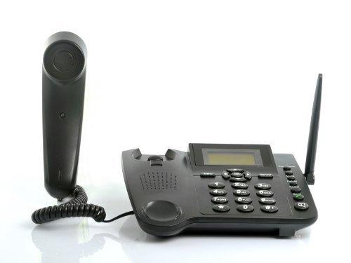 BW Quadband GSM-Tischtelefon für Büro, Familie und Senioren