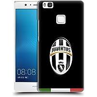 Ufficiale Juventus Football Club Italia Nero Stemma Cover Retro Rigida per Huawei P9 Lite / G9 Lite