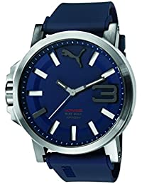 Puma Time Herren Armbanduhr Datum klassisch Quarz Silikon PU103911003