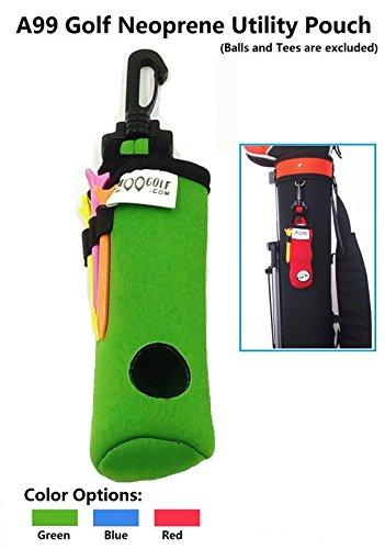 A99Golf Utility Pouch Neopren Golf Bälle Halterung