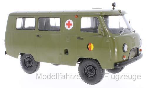 47072 UAZ 452A Ambulance (3962), NVA, 1:18 Premium gebraucht kaufen  Wird an jeden Ort in Deutschland