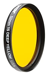 Tiffen 49dy15 49mm Deep Yellow 15 Filter