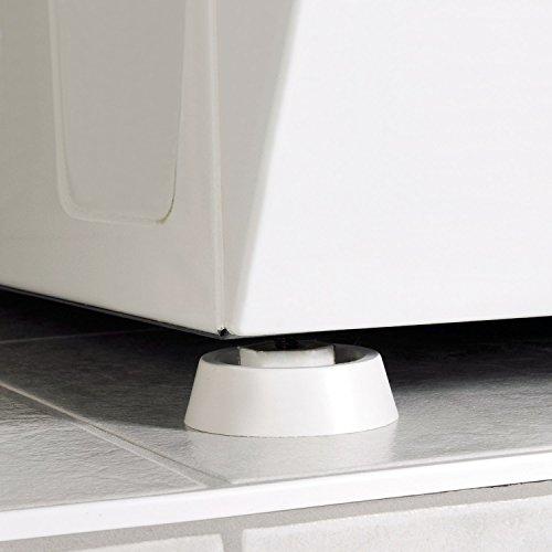 Yosemy [4 Pcs] Universal Amortisseur de vibrations en caoutchouc pour machine à laver et sèche-linge