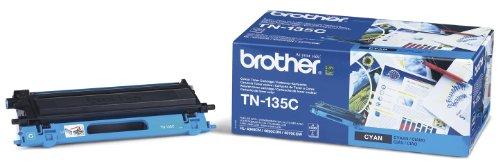 brother Lasertoner TN-135C/TN135C cyan Inh.4.000 -