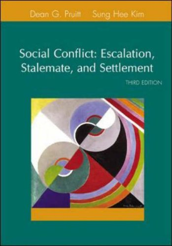 Social Conflict (McGraw-Hill Series in Social Psychology)