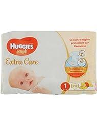 Huggies Bebè Base, Taglia 1, 2-5 kg - Confezione da 28 Pannolini