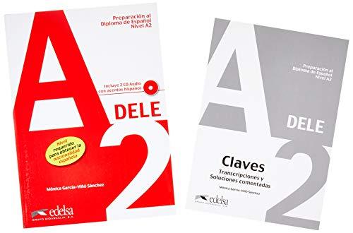 Pack DELE A2 (libro del alumno + claves) (Preparación Al Dele - Jóvenes Y Adultos - Preparación Al Dele - Nivel A2)