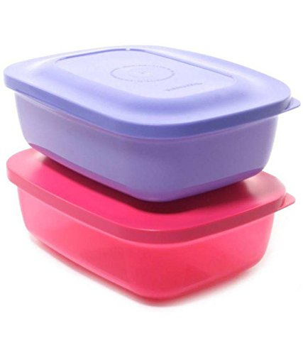 Tupperware Kompact Plastic Lunch Box, 400ml, Multicolour  available at amazon for Rs.399