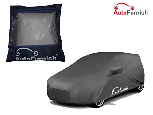 Autofurnish Premium Grey Car Body Cover For Maruti Wagon R 1.0 - Grey  available at amazon for Rs.589